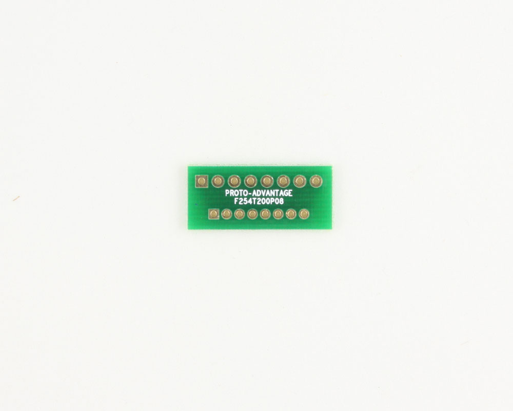 Pitch Changer 2.54 mm to 2.00 mm conversion -  8 pin 0