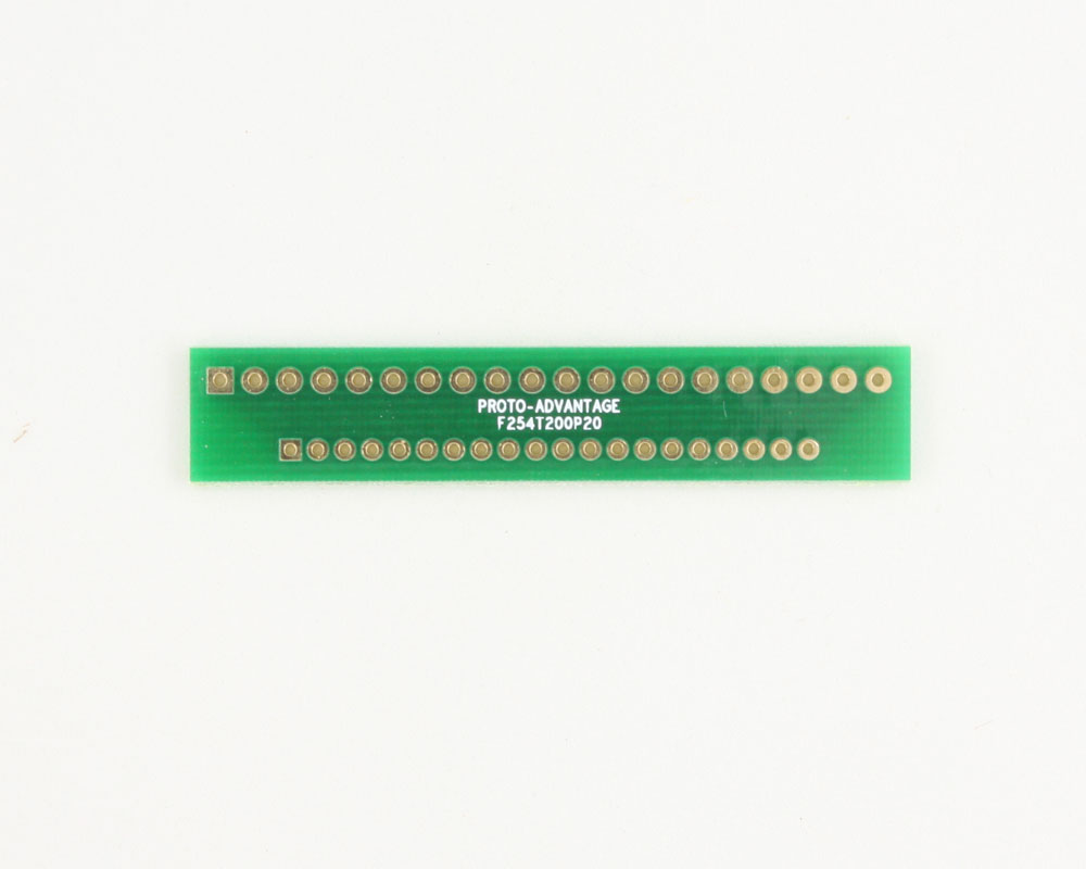 Pitch Changer 2.54 mm to 2.00 mm conversion - 20 pin 0