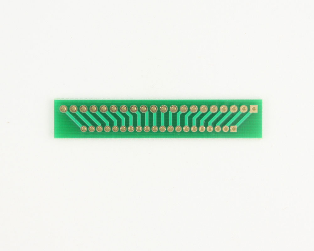 Pitch Changer 2.54 mm to 2.00 mm conversion - 20 pin 1