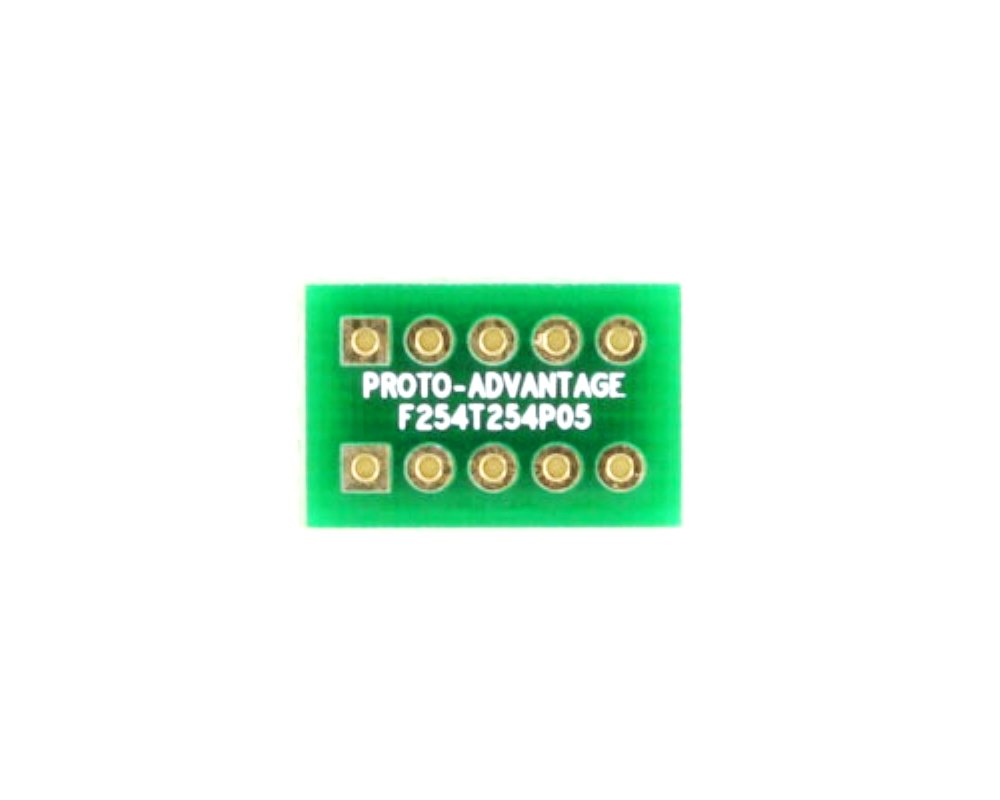 Pitch Changer 2.54 mm to 2.54 mm conversion -  5 pin 0