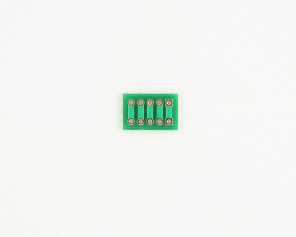 Pitch Changer 2.54 mm to 2.54 mm conversion -  5 pin 1
