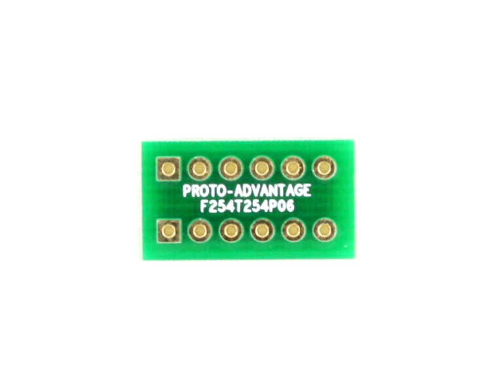 Pitch Changer 2.54 mm to 2.54 mm conversion -  6 pin 0
