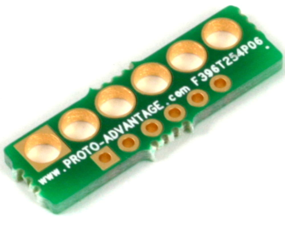 Pitch Changer 3.96 mm to 2.54 mm conversion - 6 pin 0