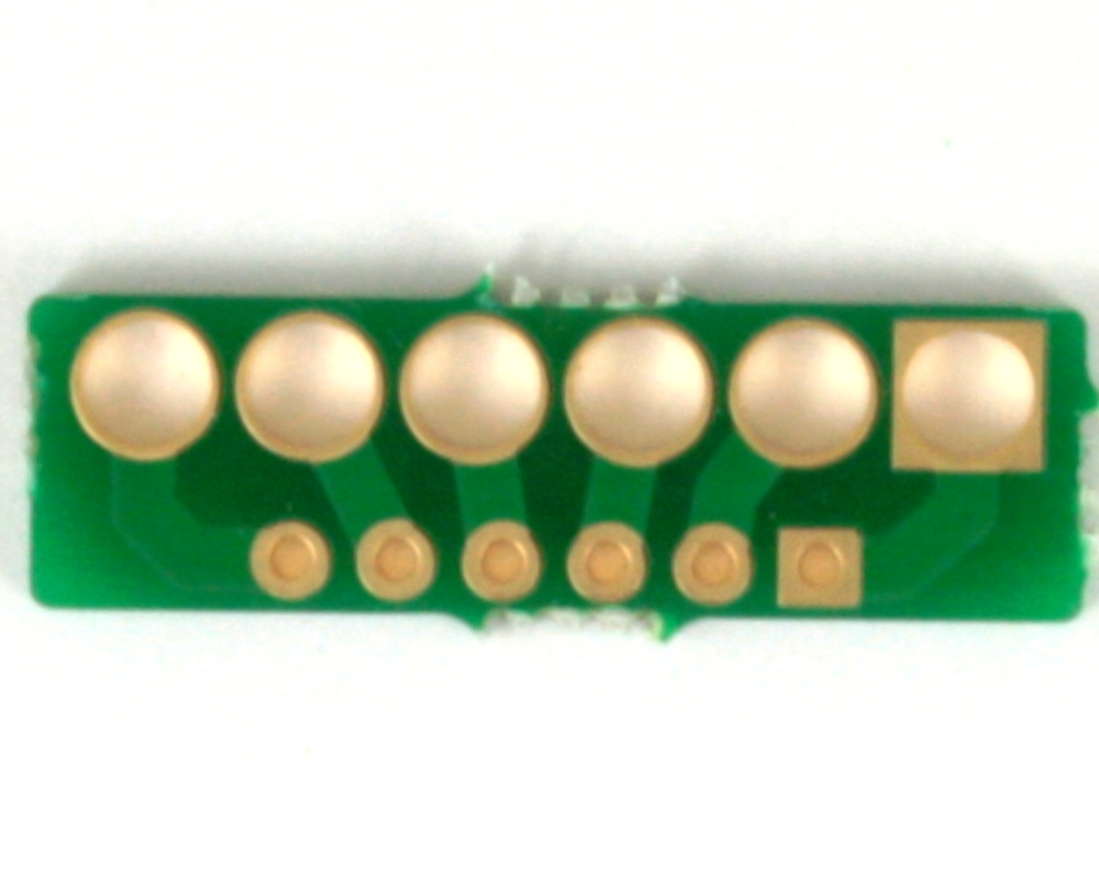 Pitch Changer 3.96 mm to 2.54 mm conversion - 6 pin 2