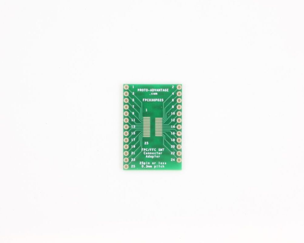 FPC/FFC SMT Connector (0.3 mm pitch, 25 pin or less) DIP Adapter 0