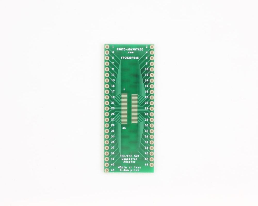 FPC/FFC SMT Connector (0.3 mm pitch, 45 pin or less) DIP Adapter 0
