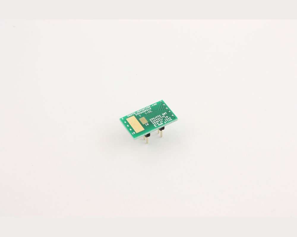 FPC/FFC SMT Connector (0.4 mm pitch, 10 pin or less) DIP Adapter 2