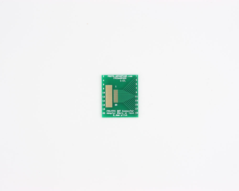 FPC/FFC SMT Connector (0.4 mm pitch, 20 pin or less) DIP Adapter 0