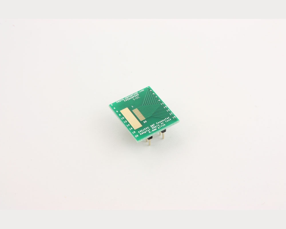FPC/FFC SMT Connector (0.4 mm pitch, 20 pin or less) DIP Adapter 2