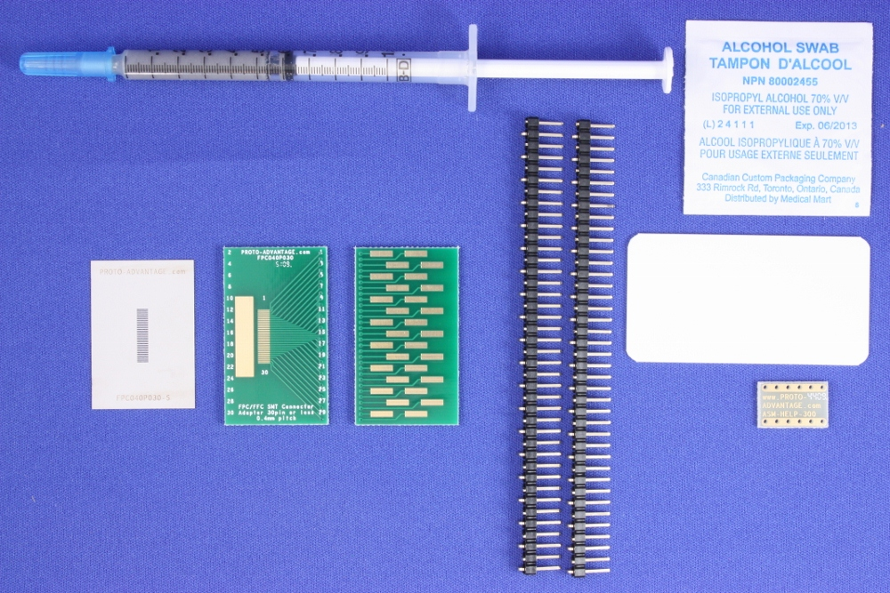 FPC/FFC SMT Connector (0.4 mm pitch, 30 pin or less) Kit 0