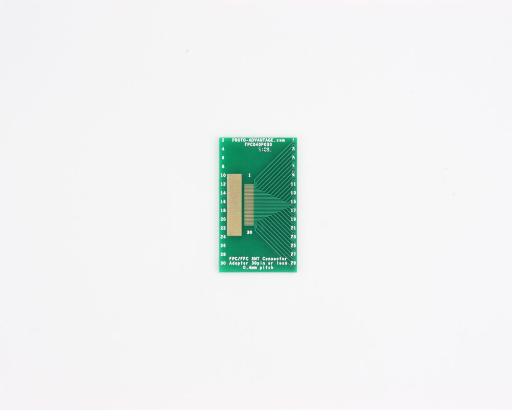 FPC/FFC SMT Connector (0.4 mm pitch, 30 pin or less) DIP Adapter 0