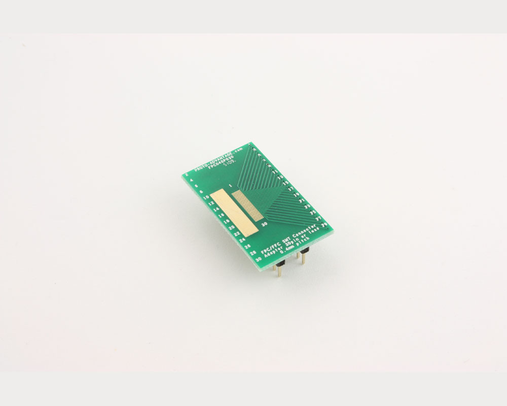 FPC/FFC SMT Connector (0.4 mm pitch, 30 pin or less) DIP Adapter 2