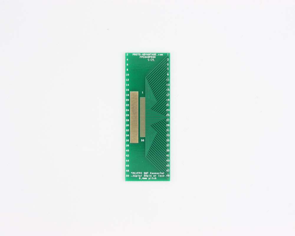 FPC/FFC SMT Connector (0.4 mm pitch, 50 pin or less) DIP Adapter 0