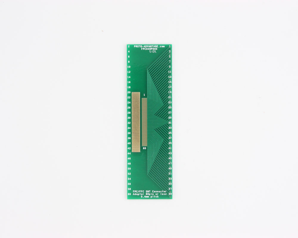 FPC/FFC SMT Connector (0.4 mm pitch, 60 pin or less) DIP Adapter 0