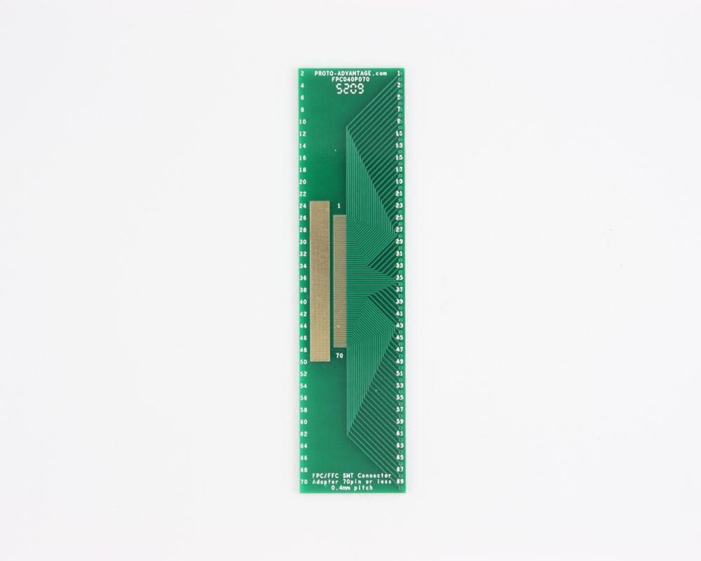 FPC/FFC SMT Connector (0.4 mm pitch, 70 pin or less) DIP Adapter 0