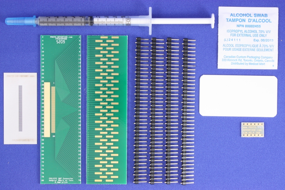 FPC/FFC SMT Connector (0.4 mm pitch, 80 pin or less) Kit 0