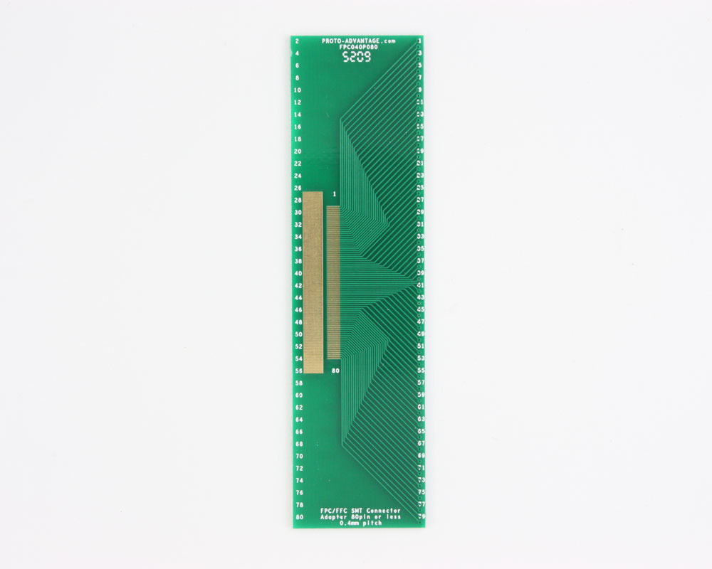 FPC/FFC SMT Connector (0.4 mm pitch, 80 pin or less) DIP Adapter 0