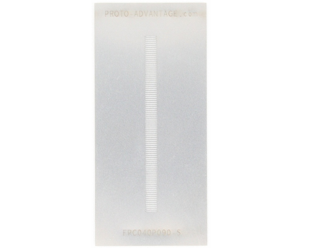 FPC/FFC SMT Connector (0.4 mm pitch, 90 pin or less) Stencil 0