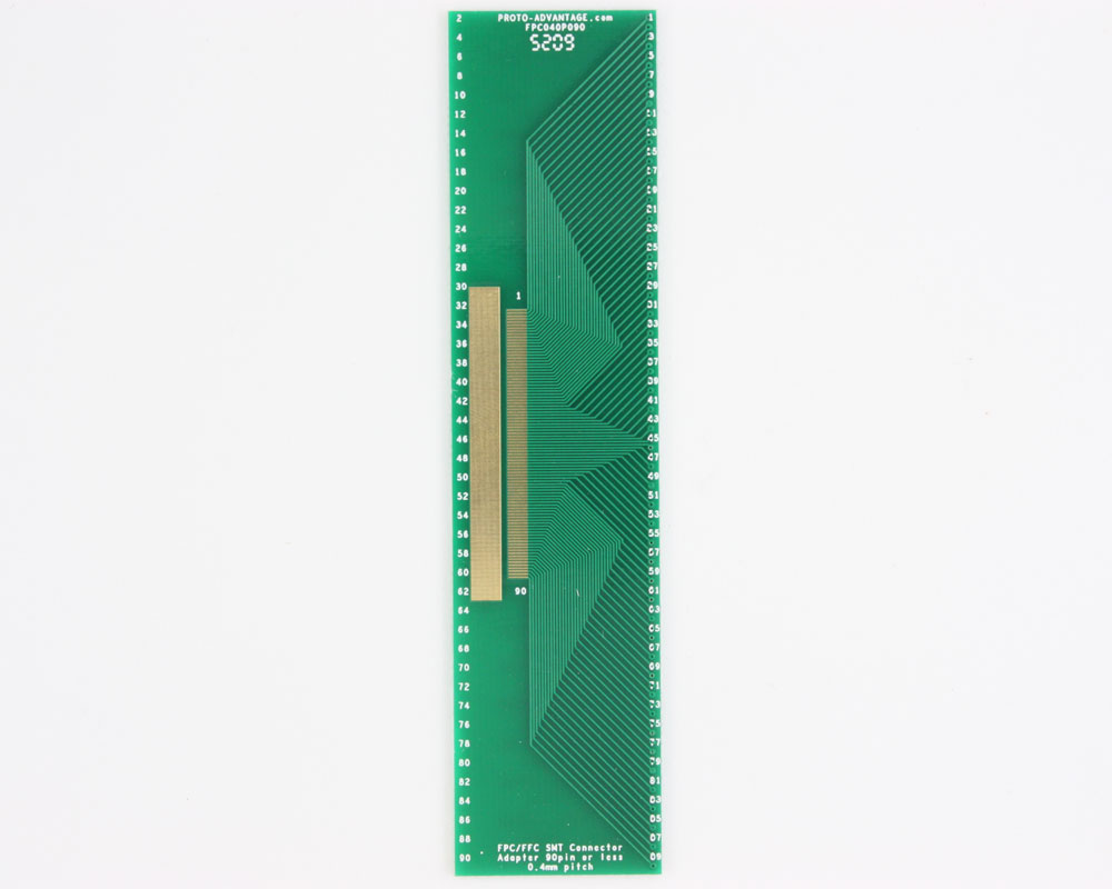 FPC/FFC SMT Connector (0.4 mm pitch, 90 pin or less) DIP Adapter 0