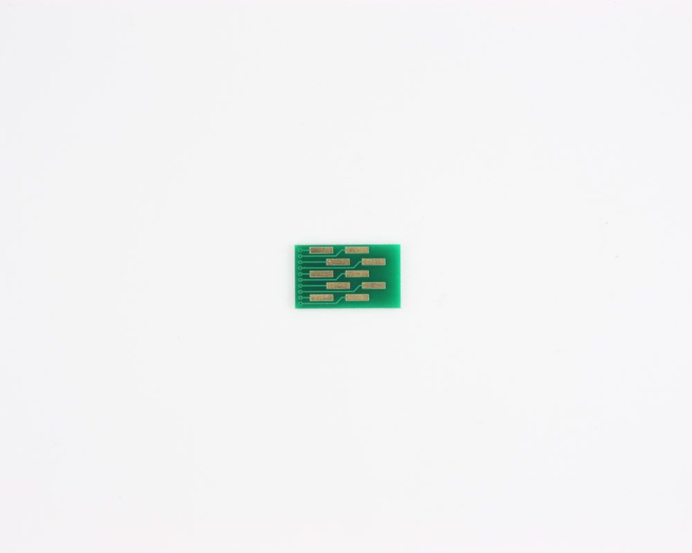FPC/FFC SMT Connector (0.5 mm pitch, 10 pin or less) DIP Adapter 1