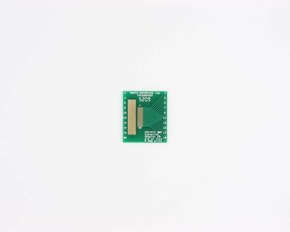 FPC/FFC SMT Connector (0.5 mm pitch, 20 pin or less) DIP Adapter 0
