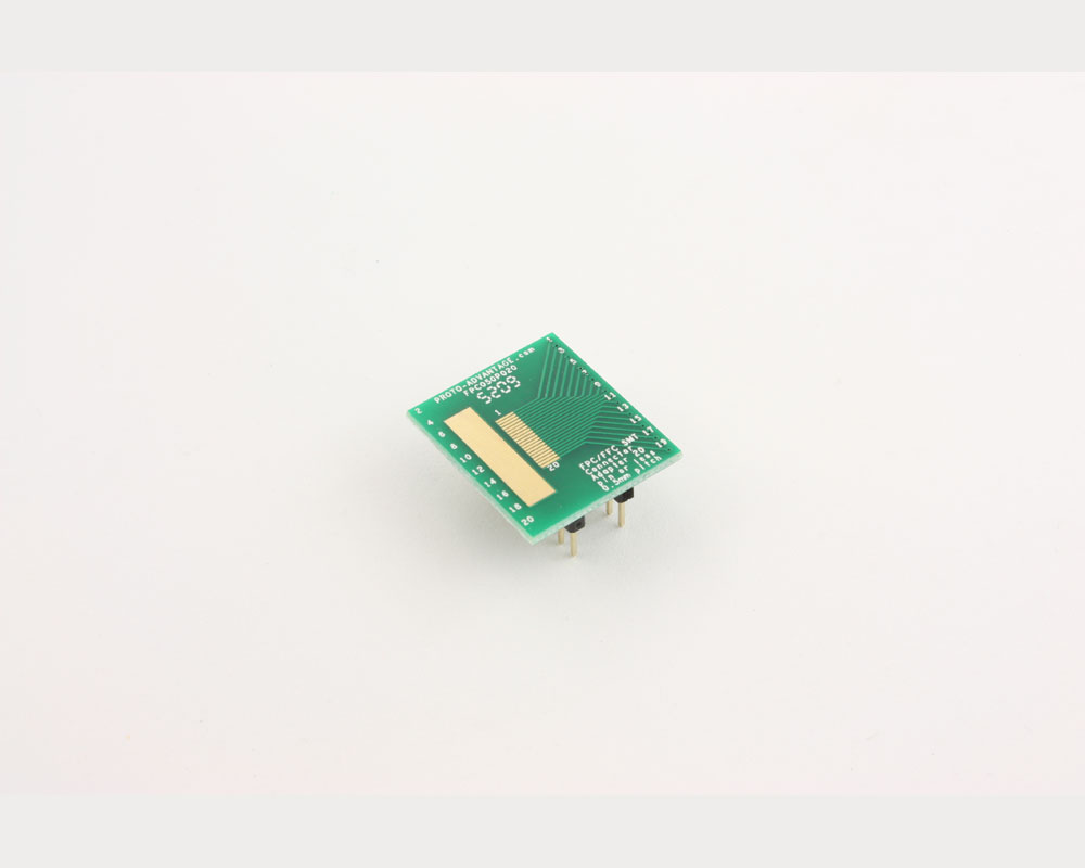 FPC/FFC SMT Connector (0.5 mm pitch, 20 pin or less) DIP Adapter 2