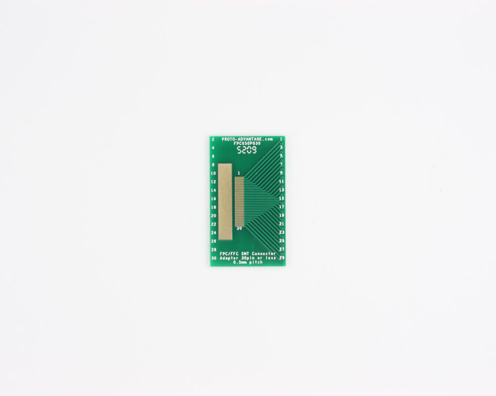 FPC/FFC SMT Connector (0.5 mm pitch, 30 pin or less) DIP Adapter 0