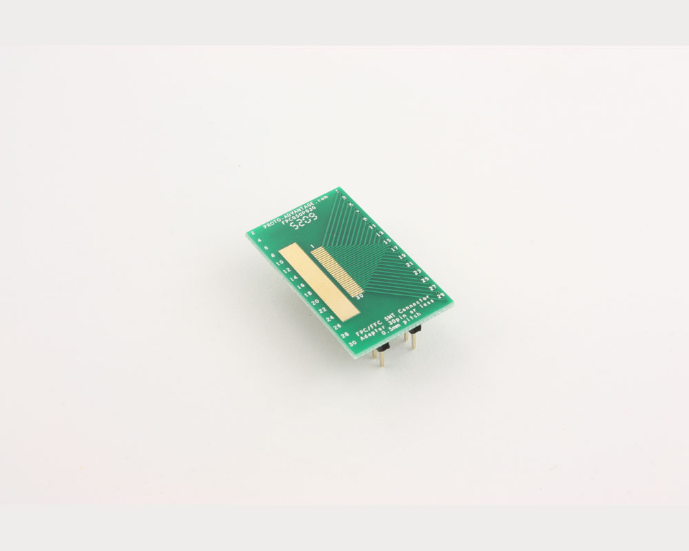 FPC/FFC SMT Connector (0.5 mm pitch, 30 pin or less) DIP Adapter 2
