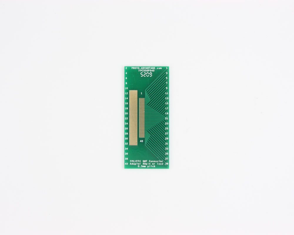 FPC/FFC SMT Connector (0.5 mm pitch, 40 pin or less) DIP Adapter 0