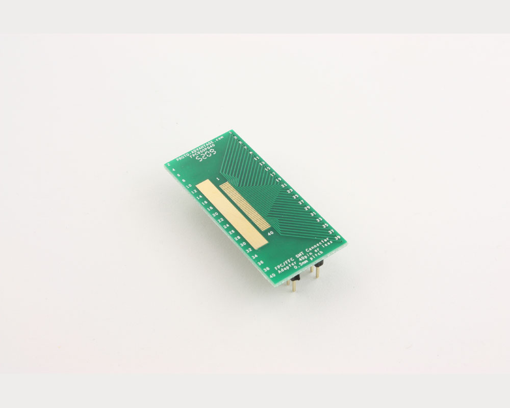 FPC/FFC SMT Connector (0.5 mm pitch, 40 pin or less) DIP Adapter 2