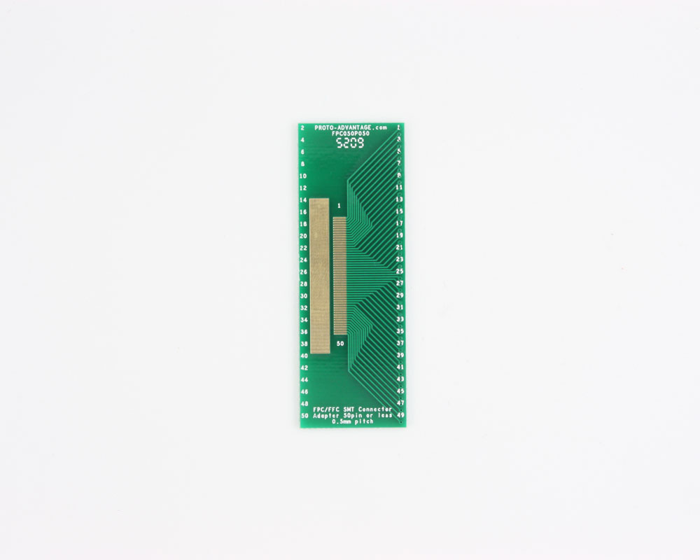 FPC/FFC SMT Connector (0.5 mm pitch, 50 pin or less) DIP Adapter 0