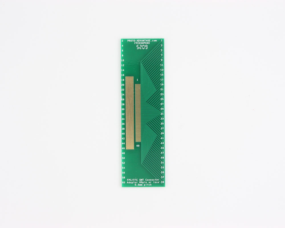 FPC/FFC SMT Connector (0.5 mm pitch, 60 pin or less) DIP Adapter 0