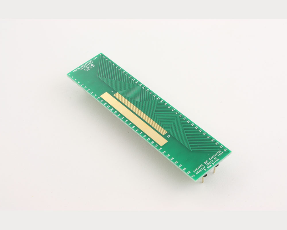 FPC/FFC SMT Connector (0.5 mm pitch, 70 pin or less) DIP Adapter 2