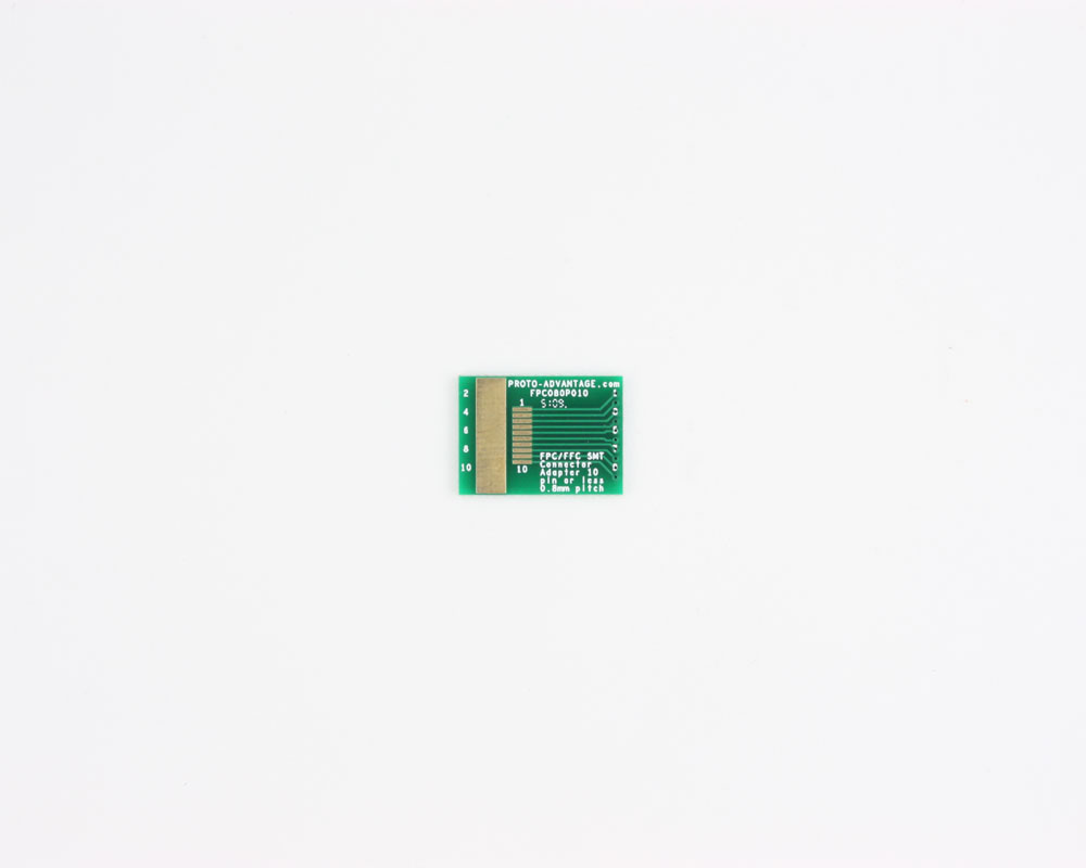 FPC/FFC SMT Connector (0.8 mm pitch, 10 pin or less) DIP Adapter 0