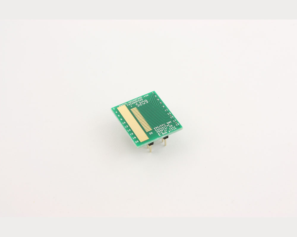FPC/FFC SMT Connector (0.8 mm pitch, 20 pin or less) DIP Adapter 2