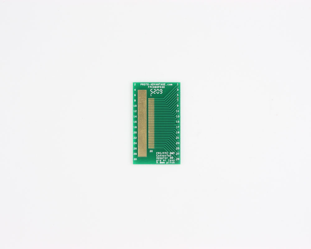 FPC/FFC SMT Connector (0.8 mm pitch, 30 pin or less) DIP Adapter 0