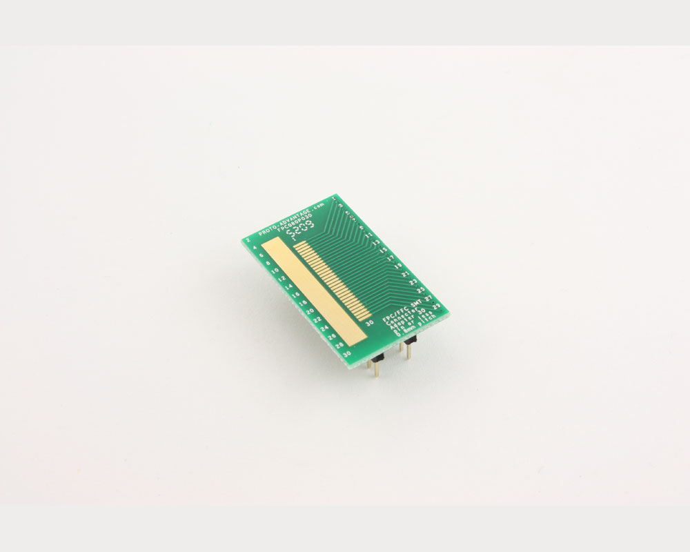 FPC/FFC SMT Connector (0.8 mm pitch, 30 pin or less) DIP Adapter 2