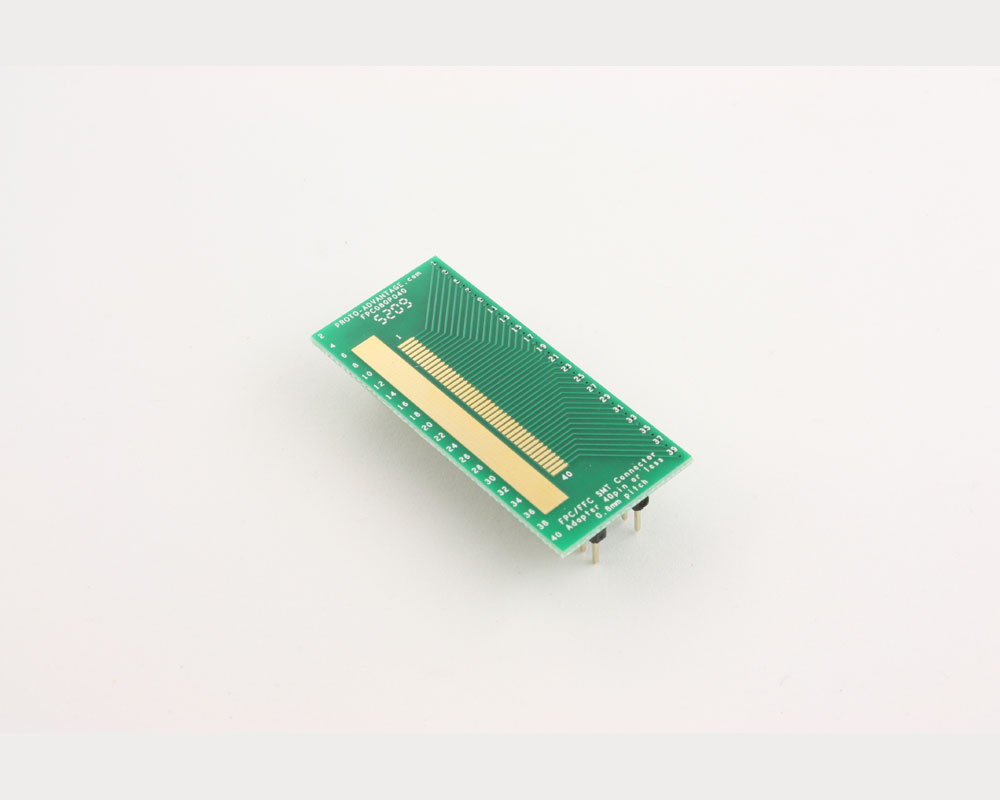 FPC/FFC SMT Connector (0.8 mm pitch, 40 pin or less) DIP Adapter 2