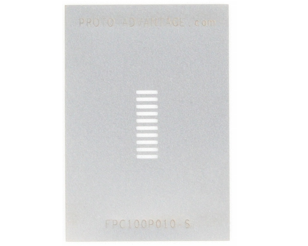 FPC/FFC SMT Connector (1 mm pitch, 10 pin or less) Stencil 0
