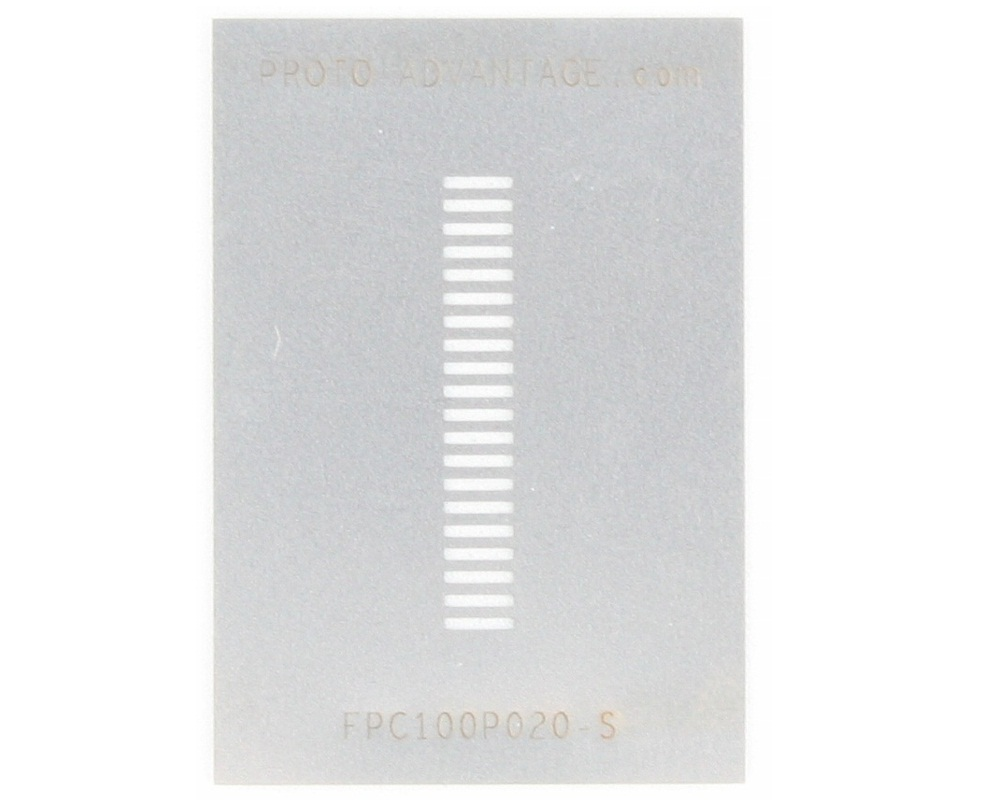 FPC/FFC SMT Connector (1 mm pitch, 20 pin or less) Stencil 0