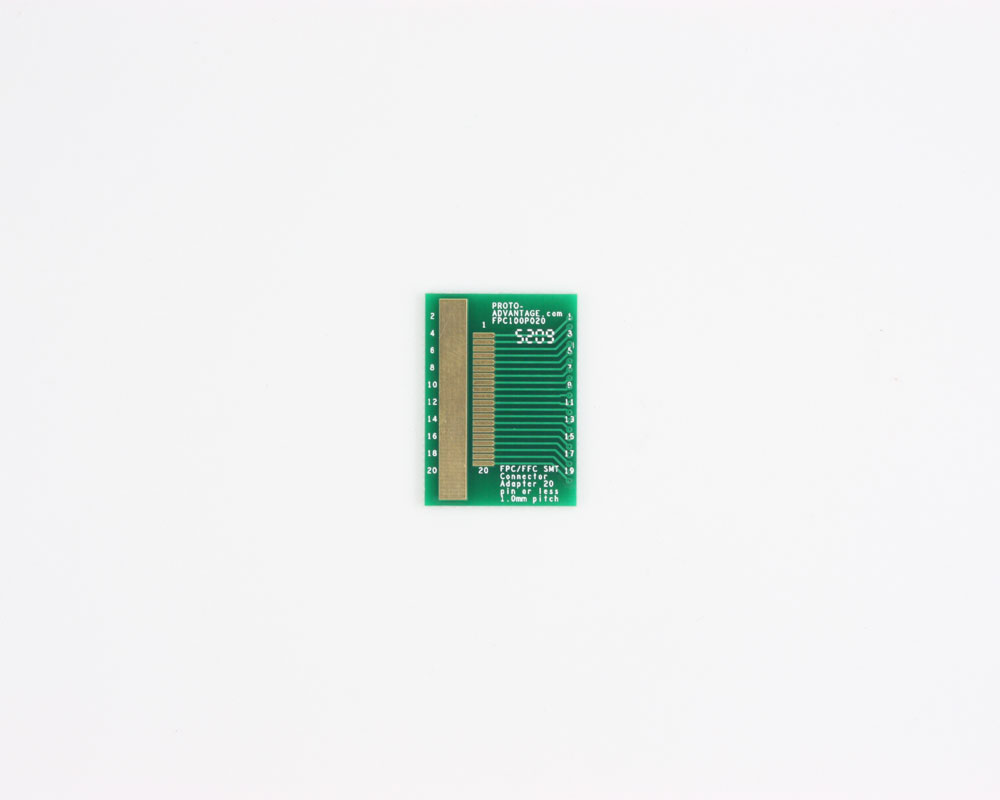 FPC/FFC SMT Connector (1 mm pitch, 20 pin or less) DIP Adapter 0