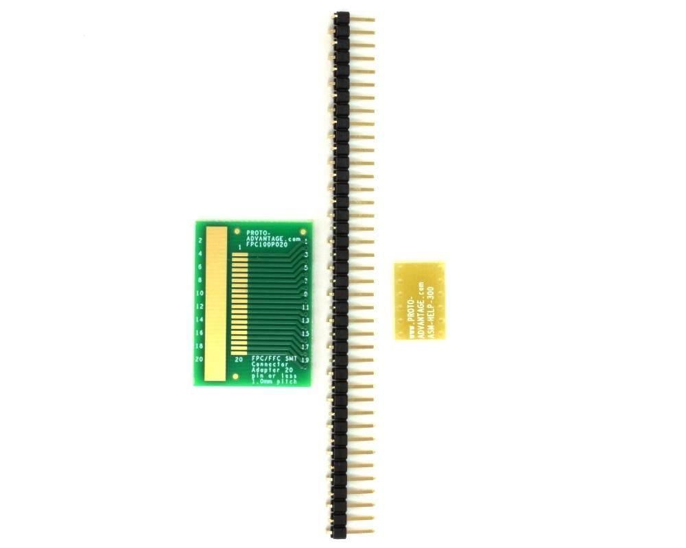 Proto Advantage Fpc Ffc Smt Connector 1 Mm Pitch 20