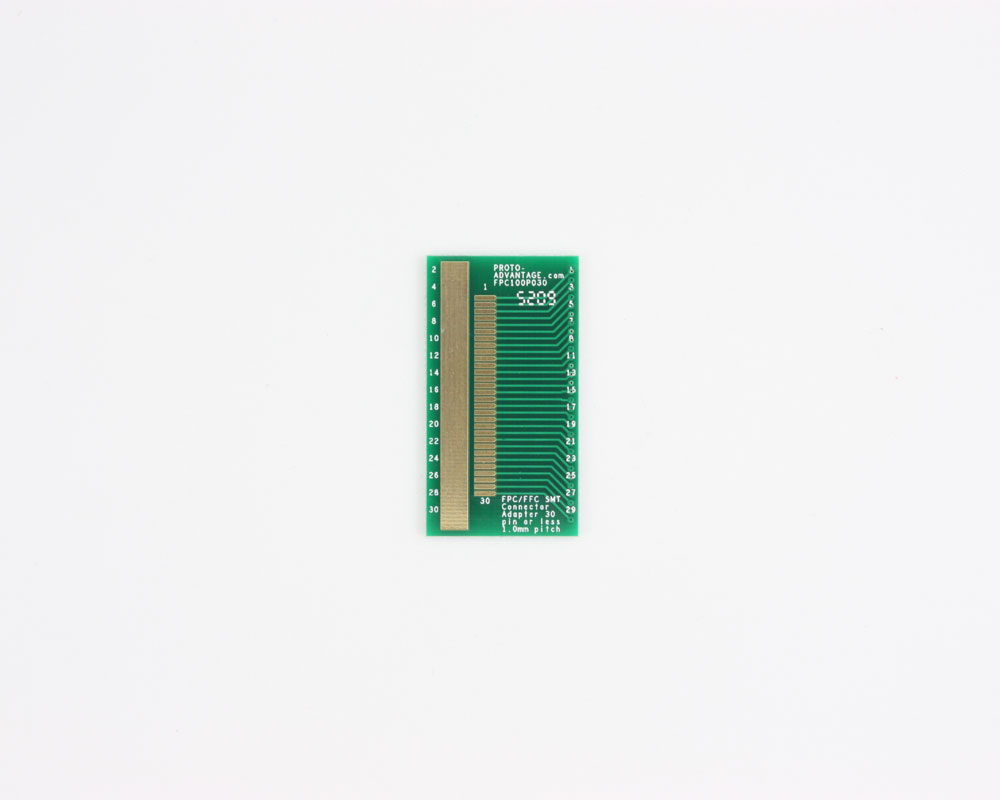 FPC/FFC SMT Connector (1 mm pitch, 30 pin or less) DIP Adapter 0
