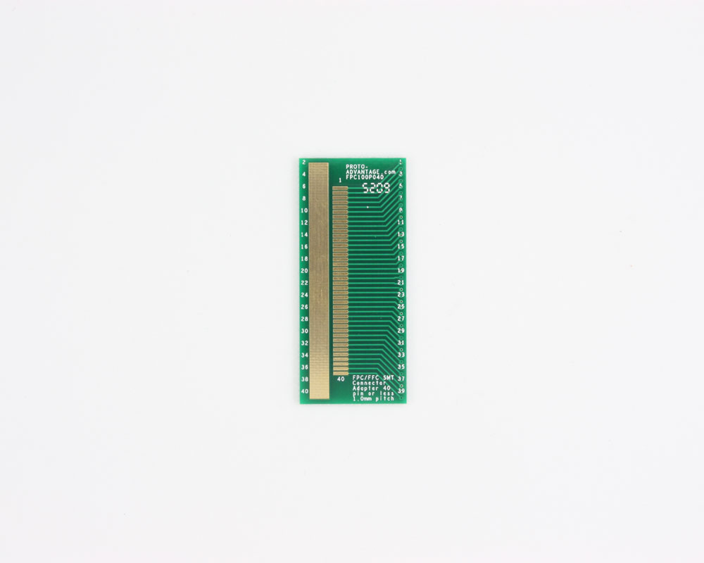 FPC/FFC SMT Connector (1 mm pitch, 40 pin or less) DIP Adapter 0
