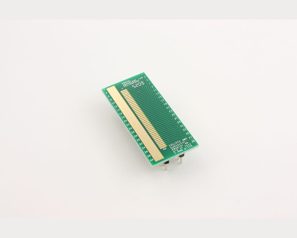 FPC/FFC SMT Connector (1 mm pitch, 40 pin or less) DIP Adapter 2