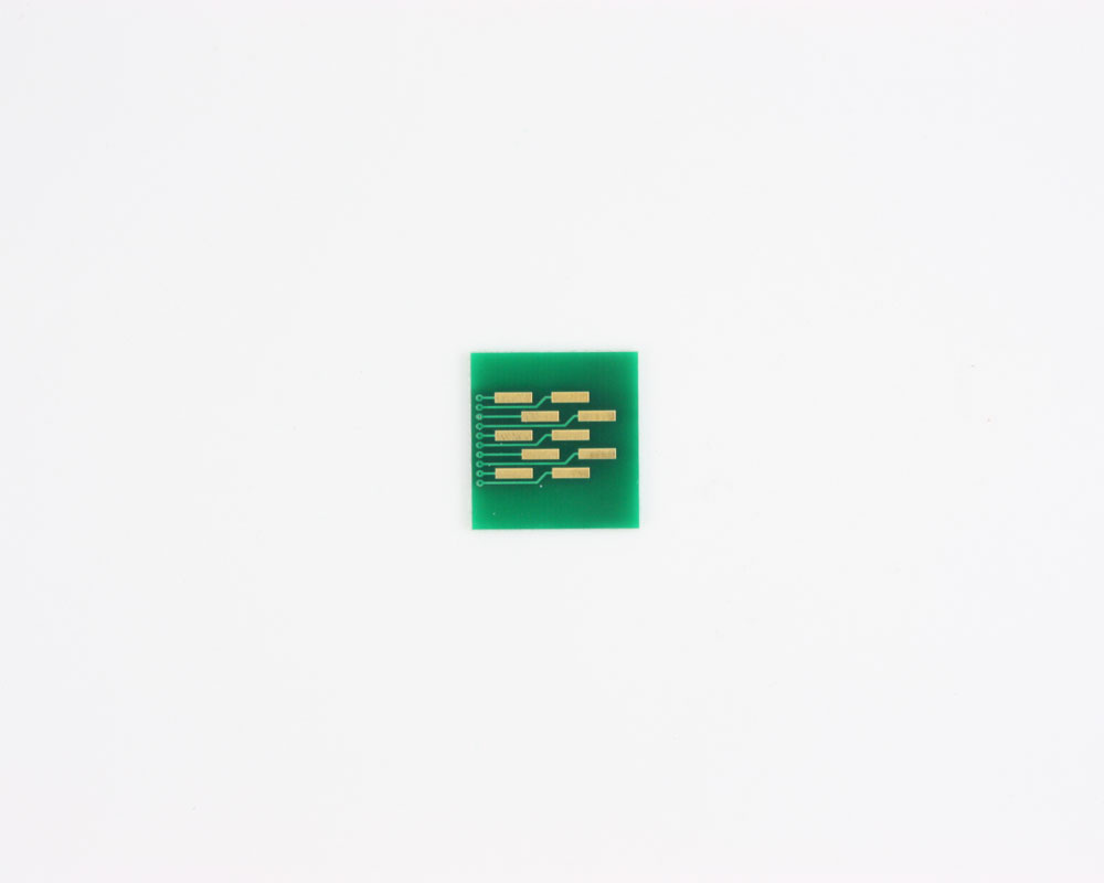 FPC/FFC SMT Connector (1.25 mm pitch, 10 pin or less) DIP Adapt 1