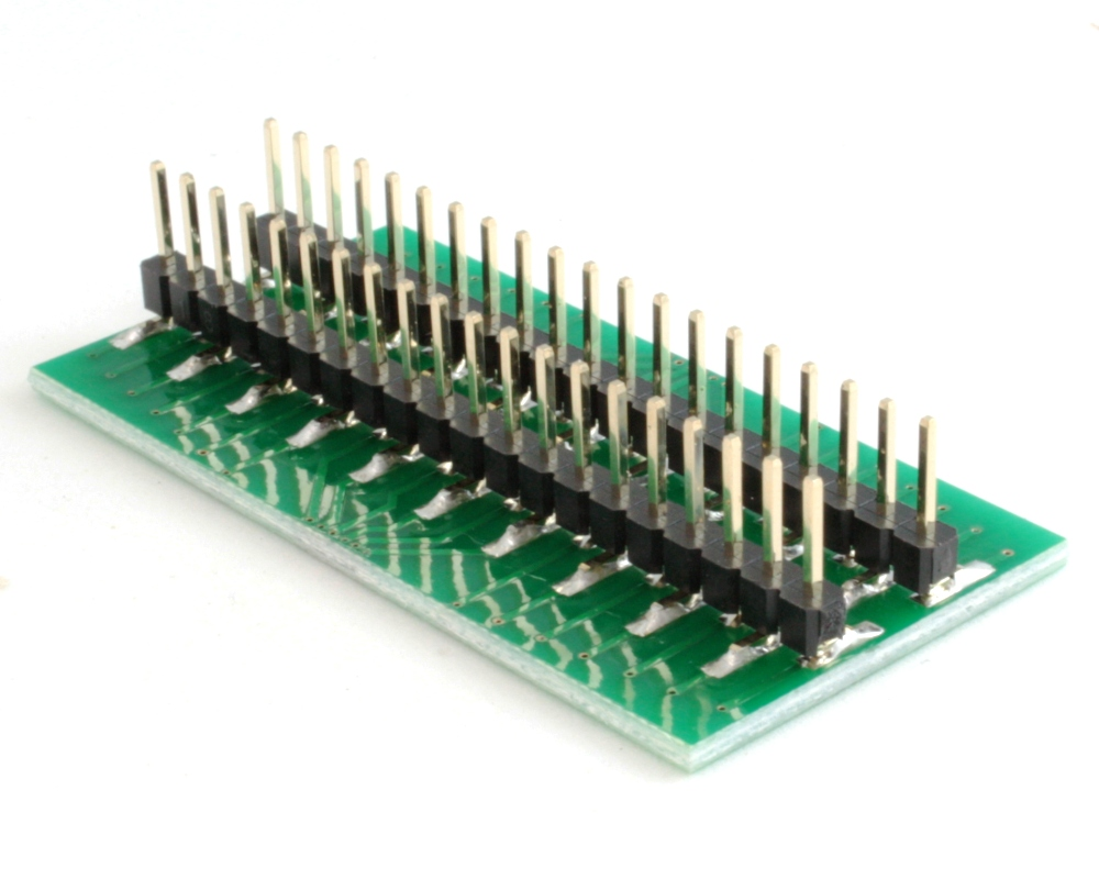 Generic Dual Row 0.40mm Pitch 40-Pin to DIP-40 Adapter 1