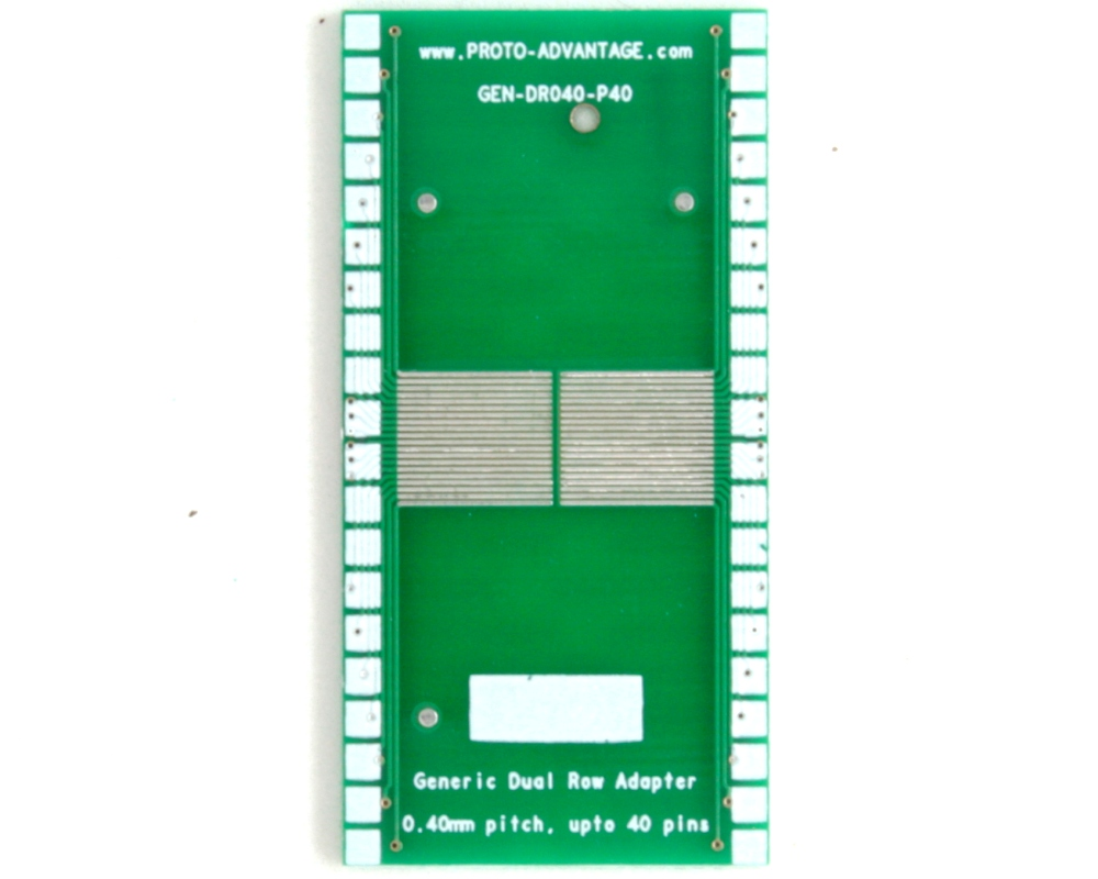 Generic Dual Row 0.40mm Pitch 40-Pin to DIP-40 Adapter 2