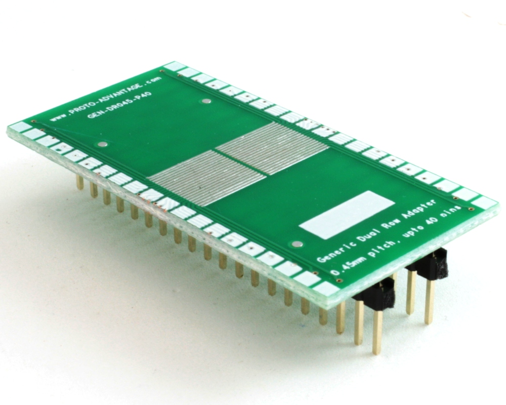 Generic Dual Row 0.45mm Pitch 40-Pin to DIP-40 Adapter 0
