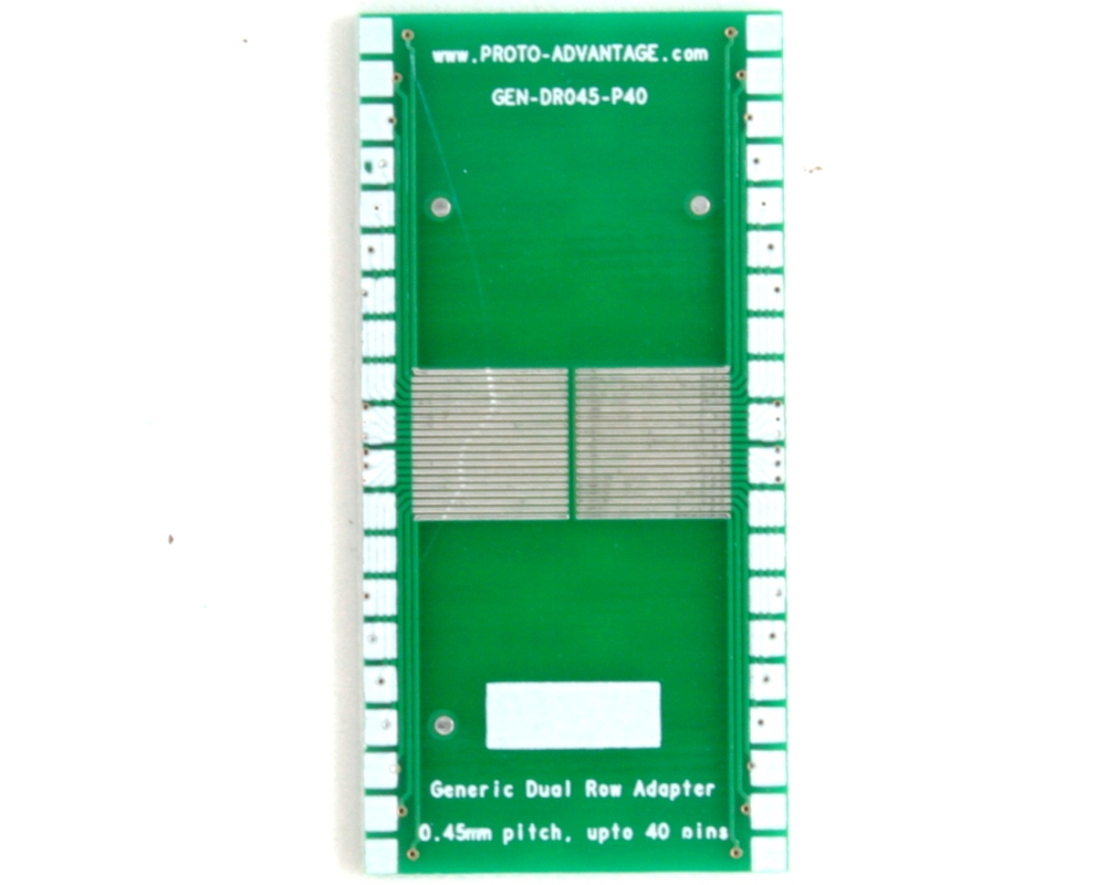 Generic Dual Row 0.45mm Pitch 40-Pin to DIP-40 Adapter 2